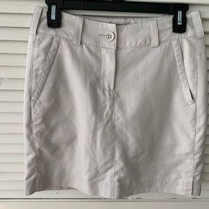 Nike Golf Tan Skirt Size 2